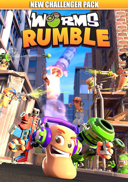 Worms Rumble - New Challenger Pack - Cover / Packshot