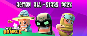 Worms Rumble - Action All-Stars Pack