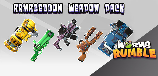 Worms Rumble: Armageddon Weapon Skin Pack - Cover / Packshot