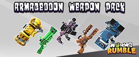 Worms Rumble: Armageddon Weapon Skin Pack
