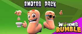 Worms Rumble: Emote Pack