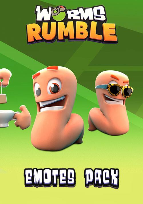Worms Rumble: Emote Pack - Cover / Packshot