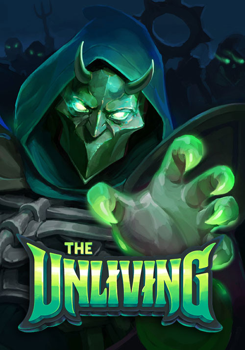 The Unliving - Cover / Packshot
