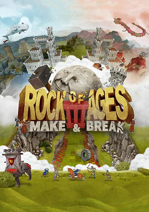 Rock of Ages 3: Make & Break - Cover / Packshot