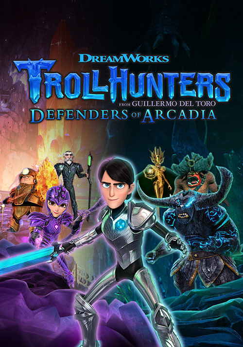 Trollhunters: Defenders of Arcadia - Cover / Packshot