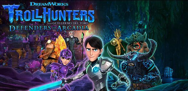 Trollhunters: Defenders of Arcadia - Cover / Packshot
