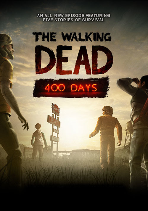 The Walking Dead: 400 Days - Cover / Packshot