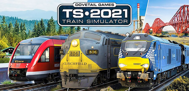 Train Simulator 2021 - Cover / Packshot