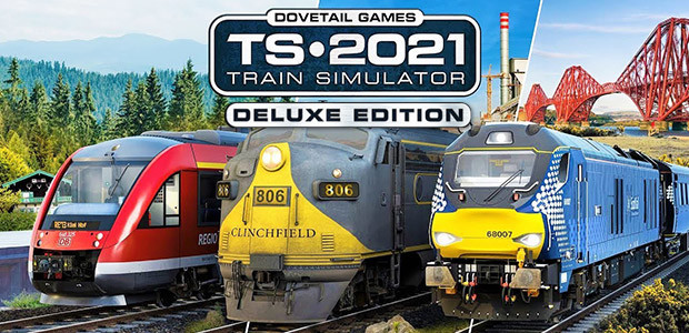 Train Simulator 2021 - Deluxe Edtion - Cover / Packshot