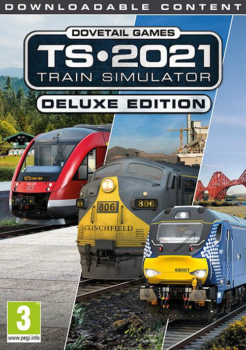 Train Simulator 2021 - Deluxe Edition - Cover / Packshot