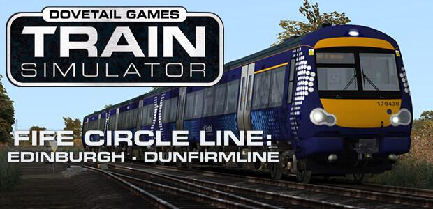 Train Simulator: Fife Circle Line: Edinburgh - Dunfermline Route Add-On - Cover / Packshot