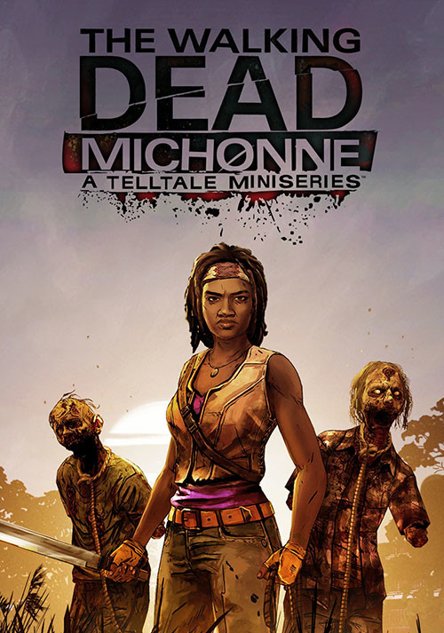 The Walking Dead: Michonne - A Telltale Miniseries - Cover / Packshot