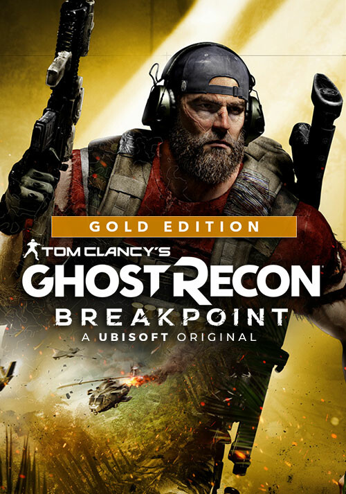 Tom Clancy's Ghost Recon Breakpoint - Gold Edition - Cover / Packshot