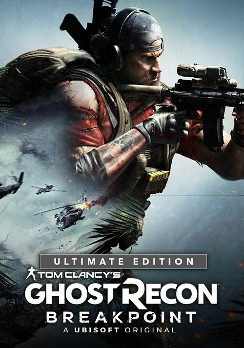 Tom Clancy's Ghost Recon Breakpoint - Ultimate Edition - Cover / Packshot