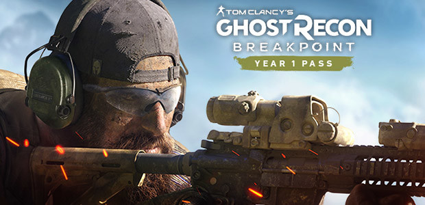Tom Clancy's Ghost Recon Breakpoint -  Year 1 Pass - Cover / Packshot
