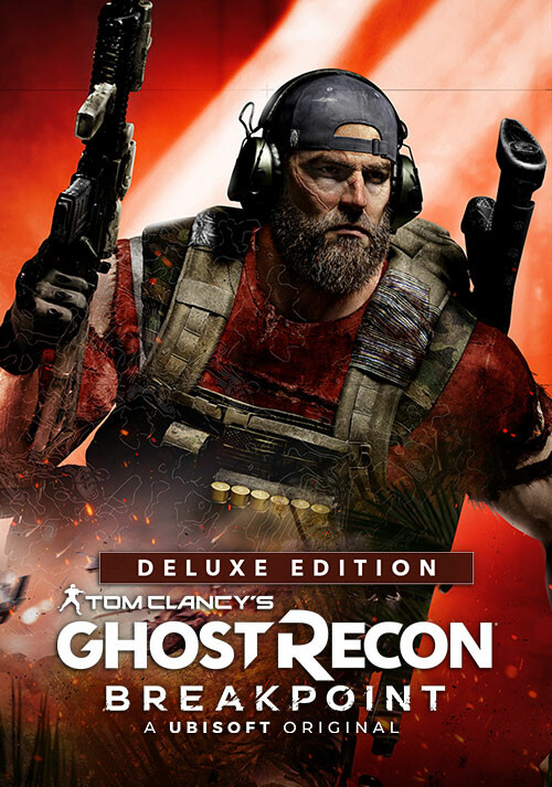 Tom Clancy's Ghost Recon Breakpoint Deluxe Edition - Cover / Packshot