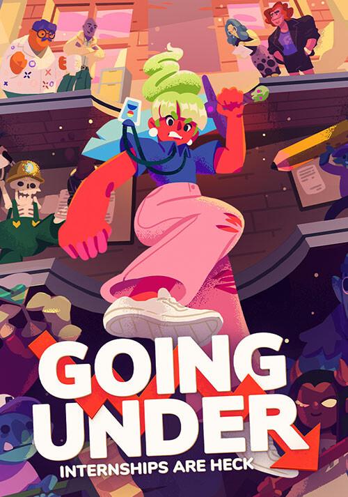 Going Under - Cover / Packshot