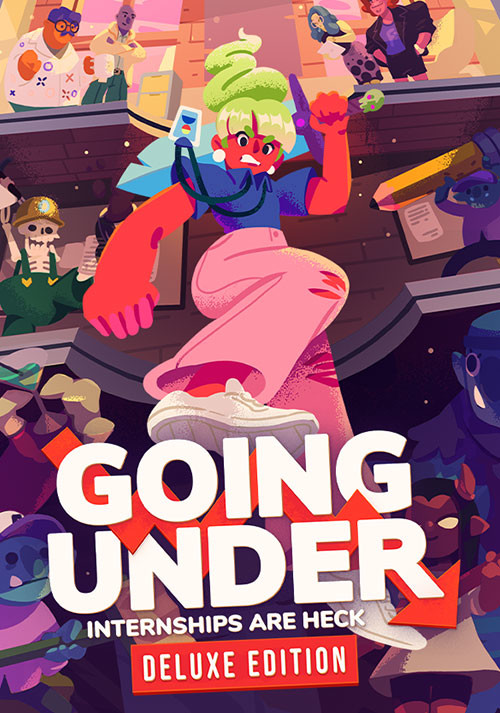 Going Under Deluxe Edition - Cover / Packshot