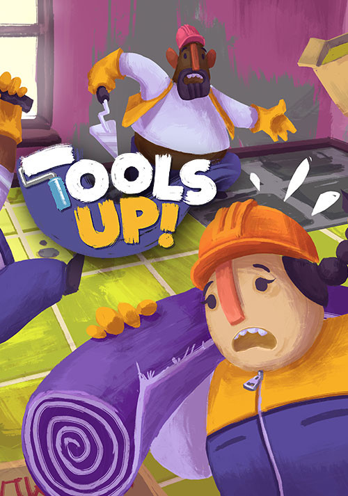 Tools Up! - Cover / Packshot