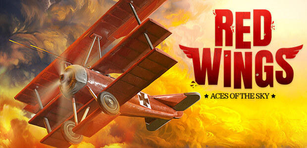 Red Wings: Aces of the Sky - Cover / Packshot
