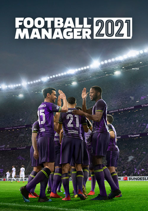 Football Manager 2021 - Cover / Packshot