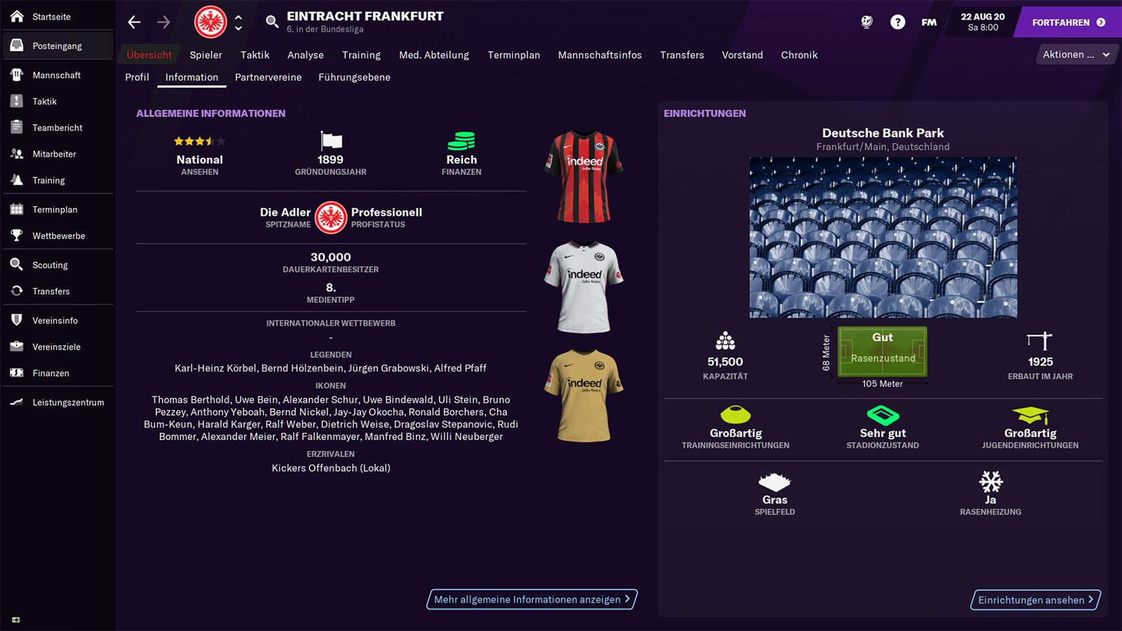 Fußball Manager 2021