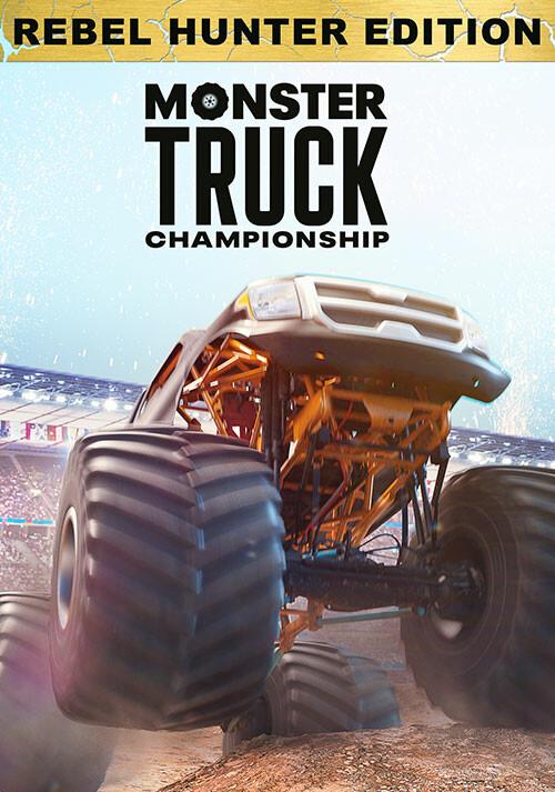 Monster Truck Championship - Rebel Hunter Edition - Cover / Packshot