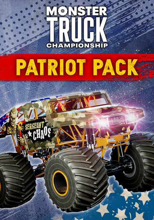 Monster Truck Championship - Patriot Pack - Cover / Packshot