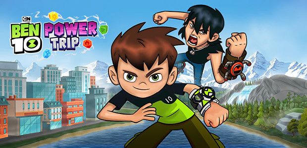 Ben 10: Power Trip - Cover / Packshot