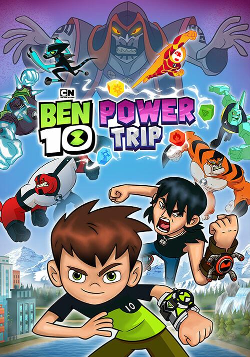 Ben 10: Power Trip - Cover / Packshot