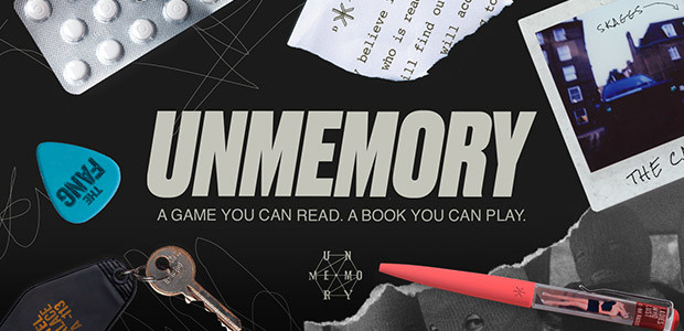 Unmemory - Cover / Packshot
