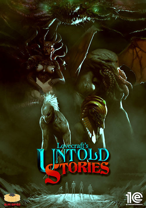 Lovecraft's Untold Stories - Cover / Packshot