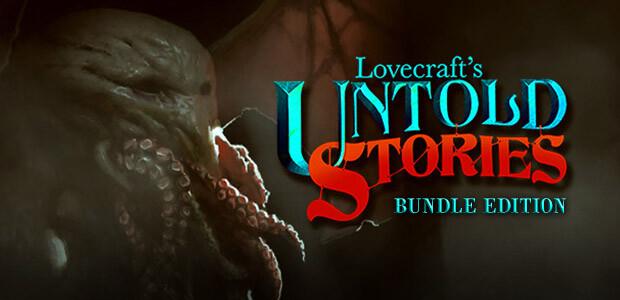 Lovecraft's Untold Stories + OST + Artbook - Cover / Packshot