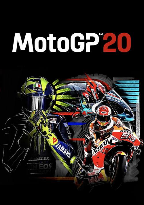 MotoGP™20 - Cover / Packshot