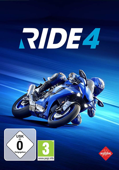 RIDE 4 - Cover / Packshot
