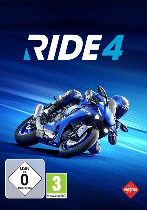 RIDE 4 - Cover / Packshot