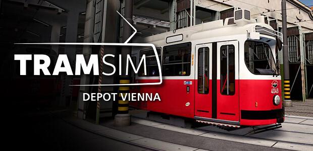 TramSim DLC Tram-Depot Vienna - Cover / Packshot