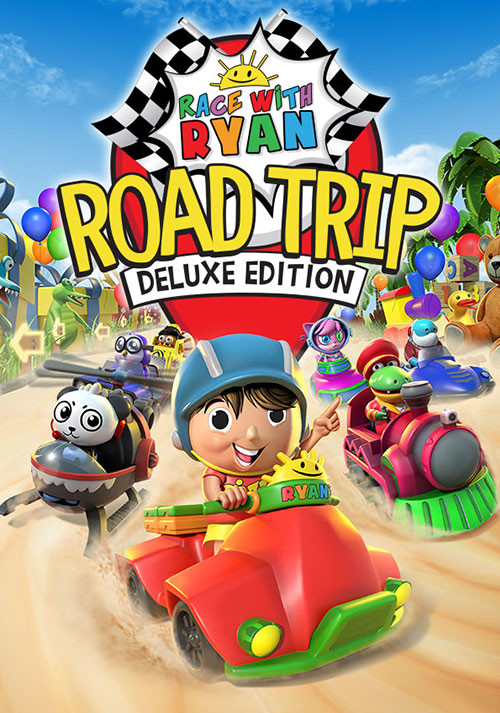 Race with Ryan: Road Trip Deluxe Edition - Cover / Packshot