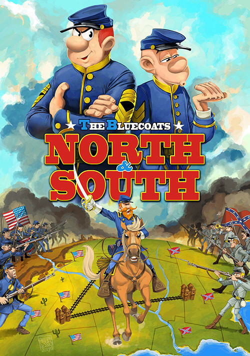 The Bluecoats: North & South - Cover / Packshot