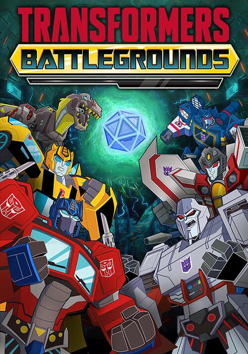 Transformers: Battlegrounds - Cover / Packshot