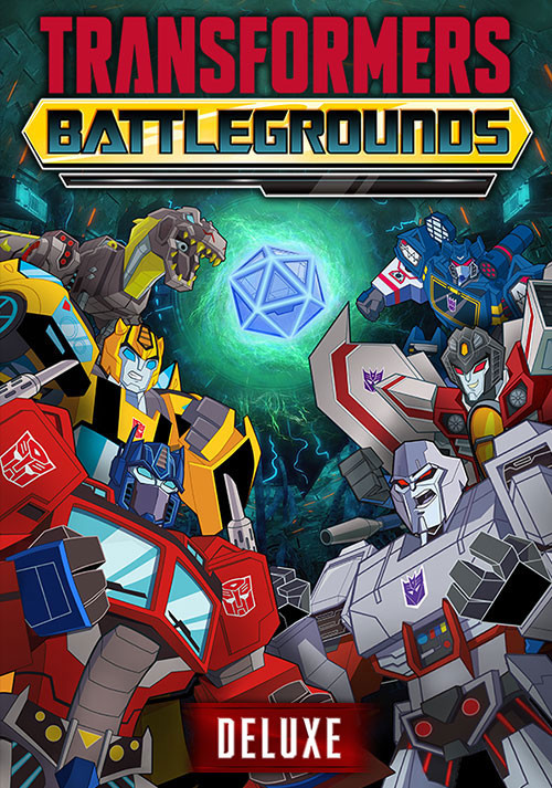 Transformers: Battlegrounds Deluxe Version - Cover / Packshot