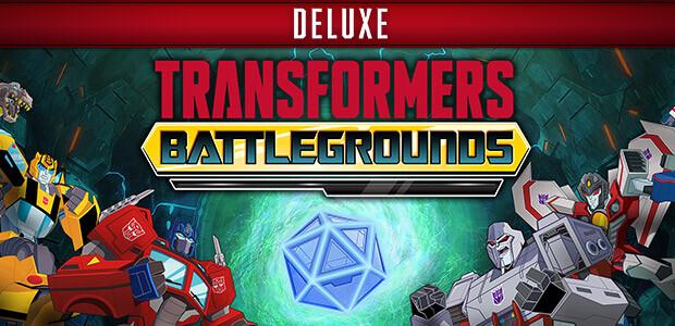 Transformers: Battlegrounds Deluxe Version - Cover / Packshot