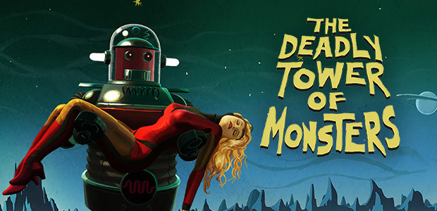 The Deadly Tower of Monsters - Cover / Packshot