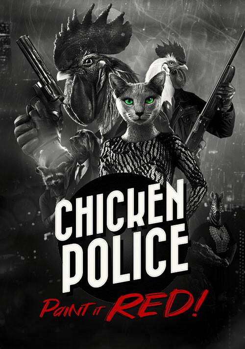 Chicken Police - Cover / Packshot