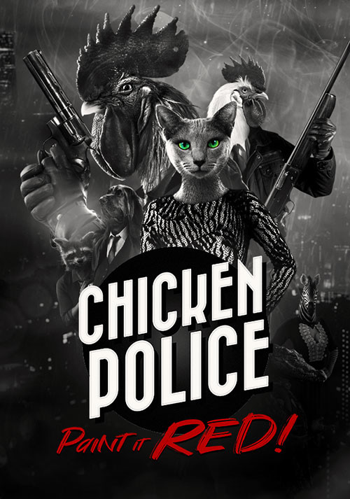 Chicken Police - Cover / Packshot