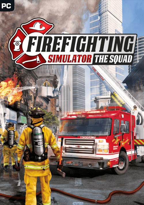 Firefighting Simulator - The Squad - Cover / Packshot