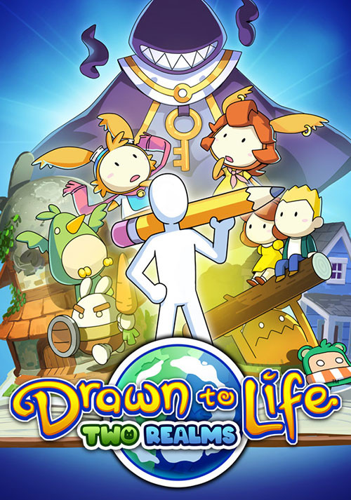 Drawn to Life: Two Realms - Cover / Packshot