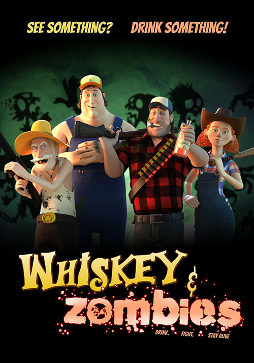 Whiskey & Zombies: The Great Southern Zombie Escape - Cover / Packshot