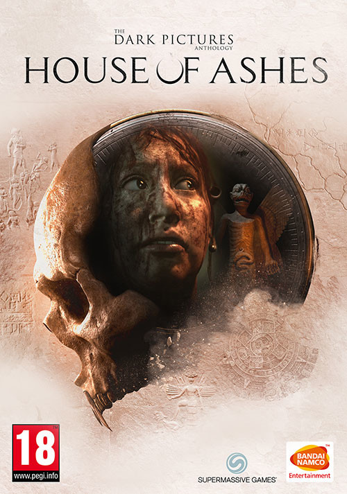 The Dark Pictures Anthology: House of Ashes - Cover / Packshot