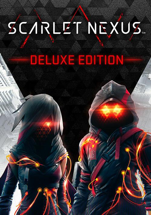 SCARLET NEXUS - Deluxe Edition - Cover / Packshot